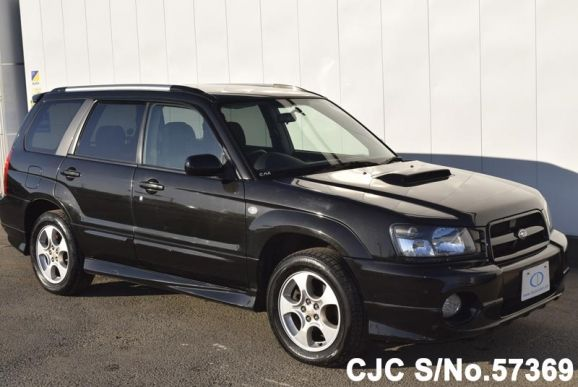 2002 subaru forester black for sale stock no 57369 japanese used cars exporter. Black Bedroom Furniture Sets. Home Design Ideas