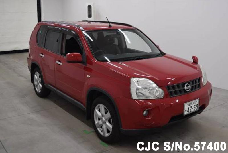 2010 nissan x trail red for sale stock no 57400. Black Bedroom Furniture Sets. Home Design Ideas