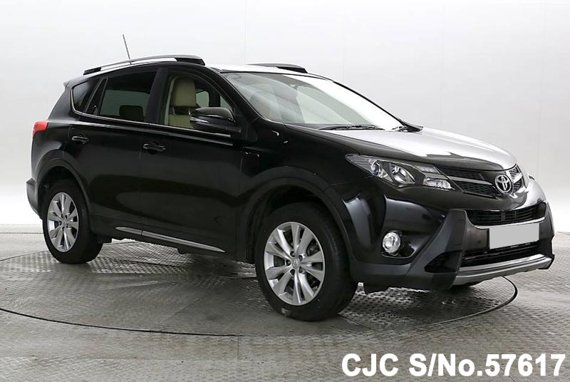 2015 toyota rav4 black for sale stock no 57617 japanese used cars exporter. Black Bedroom Furniture Sets. Home Design Ideas