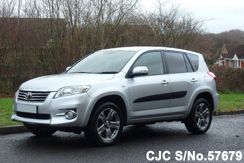 2011 toyota rav4 silver for sale stock no 57679 japanese used cars exporter. Black Bedroom Furniture Sets. Home Design Ideas