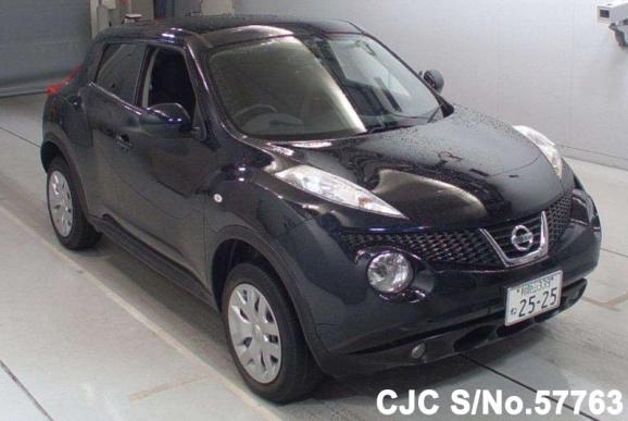 2013 nissan juke black for sale stock no 57763 japanese used cars exporter. Black Bedroom Furniture Sets. Home Design Ideas