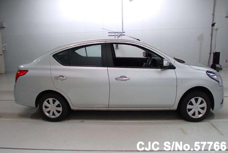 2015 Nissan Latio Silver For Sale Stock No 57766