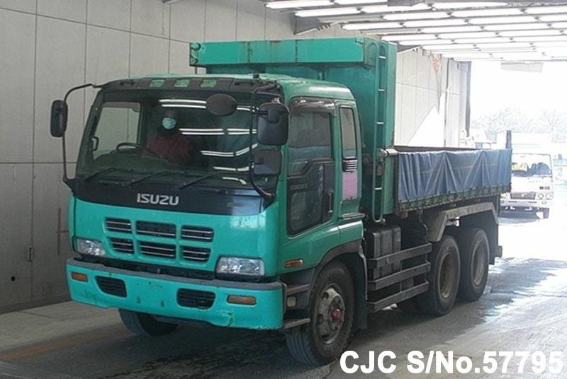 2000 isuzu giga truck for sale stock no 57795 japanese used cars exporter. Black Bedroom Furniture Sets. Home Design Ideas