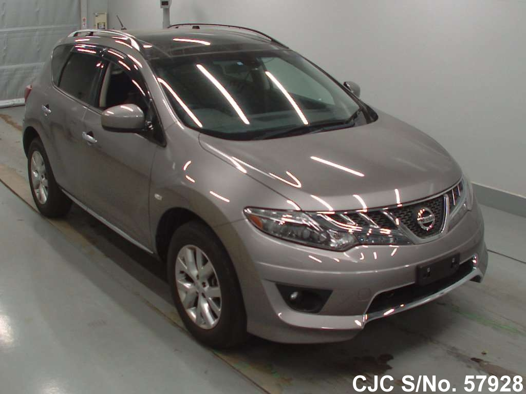 2011 Nissan Murano Gray For Sale Stock No 57928 Japanese Used Cars Exporter