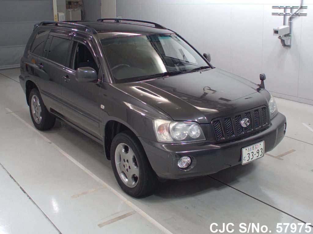 2002 toyota kluger stock no 57975