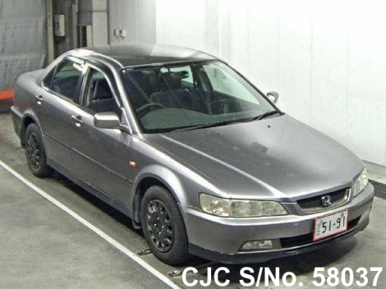 2000 honda accord gray for sale stock no 58037 japanese used cars exporter. Black Bedroom Furniture Sets. Home Design Ideas