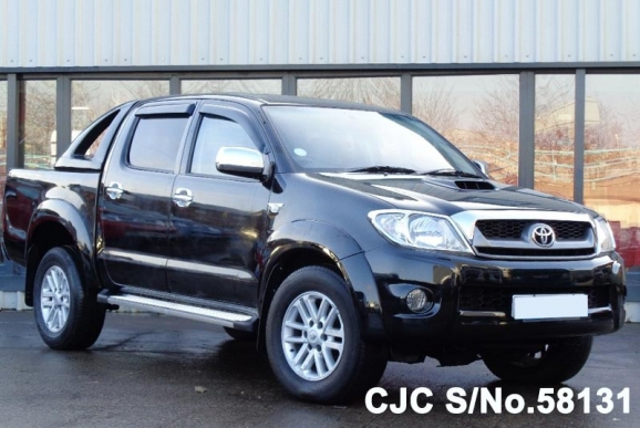 2010 toyota hilux truck for sale stock no 58131 japanese used cars exporter. Black Bedroom Furniture Sets. Home Design Ideas