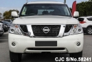 front view of luxury sport utility vehicle Nissan Patrol