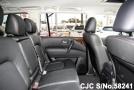 Interior of luxury sport utility vehicle Nissan Patrol