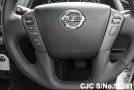 Power steering of luxury sport utility vehicle Nissan Patrol