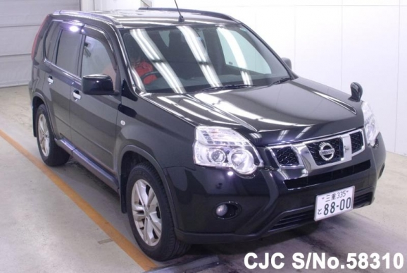 2010 nissan x trail black for sale stock no 58310. Black Bedroom Furniture Sets. Home Design Ideas