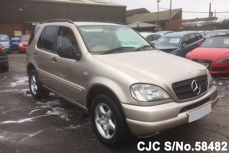 2001 mercedes benz m class gold for sale stock no 58482 for 2001 mercedes benz m class