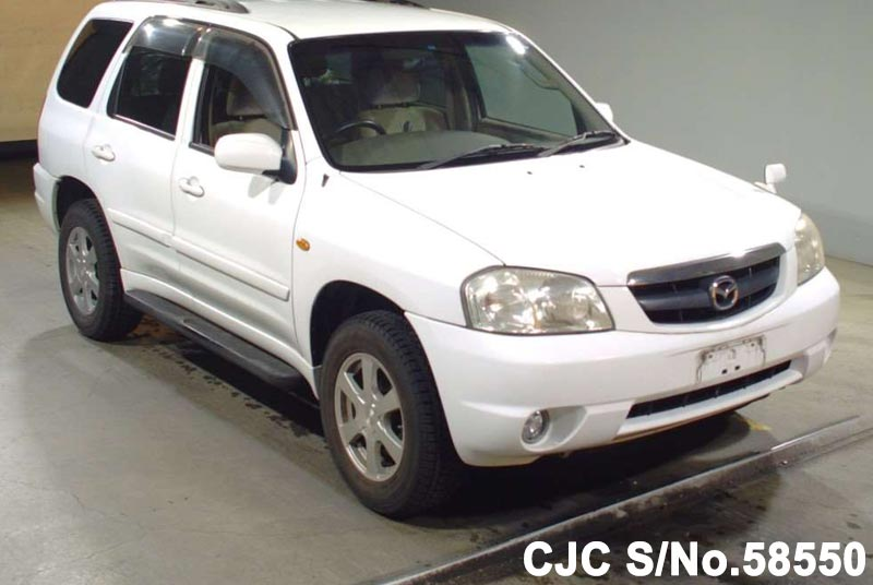 2001 Mazda / Tribute Stock No. 58550
