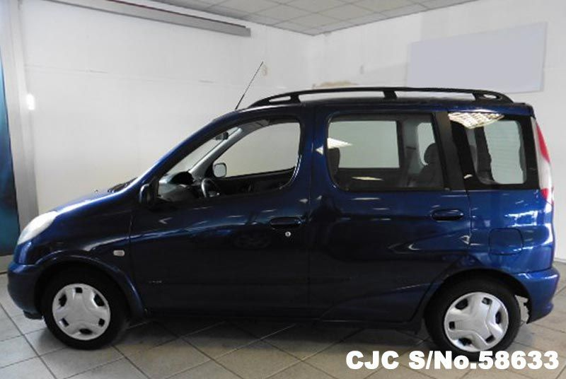 1999 Left Hand Toyota Yaris Verso Blue For Sale Stock No