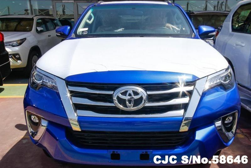 2017 Left Hand Toyota Fortuner Blue For Sale Stock No
