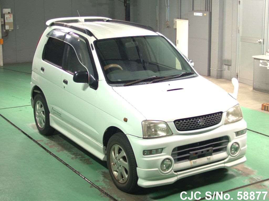 1999 daihatsu terios kid white for sale stock no 58877 japanese used cars exporter. Black Bedroom Furniture Sets. Home Design Ideas