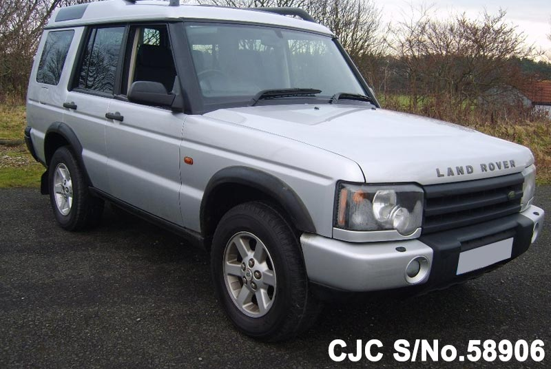 2003 land rover discovery silver for sale stock no 58906 japanese used cars exporter. Black Bedroom Furniture Sets. Home Design Ideas