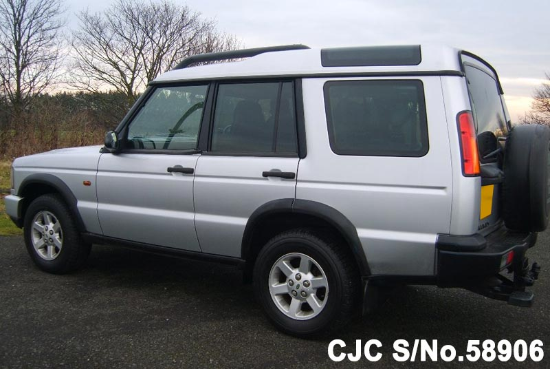 2003 land rover discovery silver for sale stock no. Black Bedroom Furniture Sets. Home Design Ideas