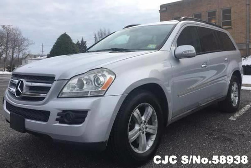 2007 left hand mercedes benz gl class silver for sale for 2007 mercedes benz gl class for sale