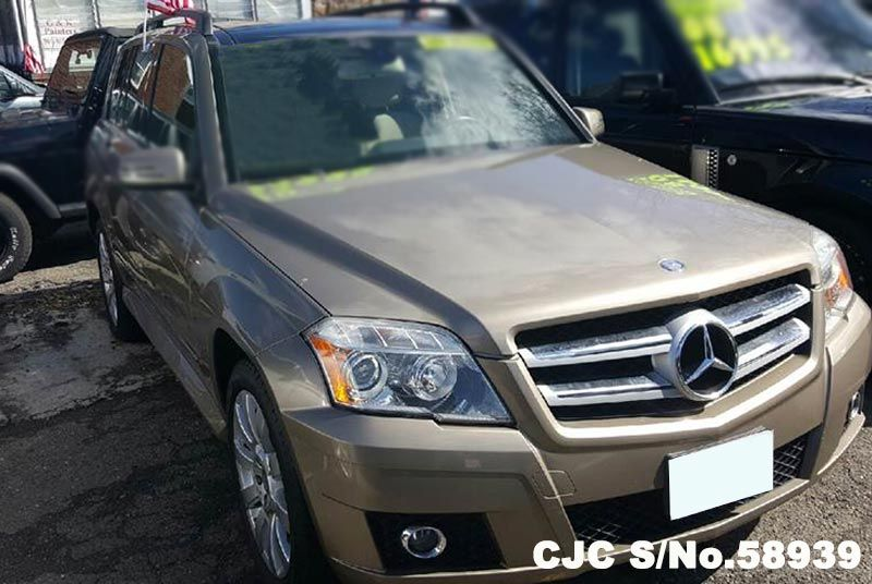 2010 left hand mercedes benz glk350 champagne silver for 2010 mercedes benz glk350 for sale