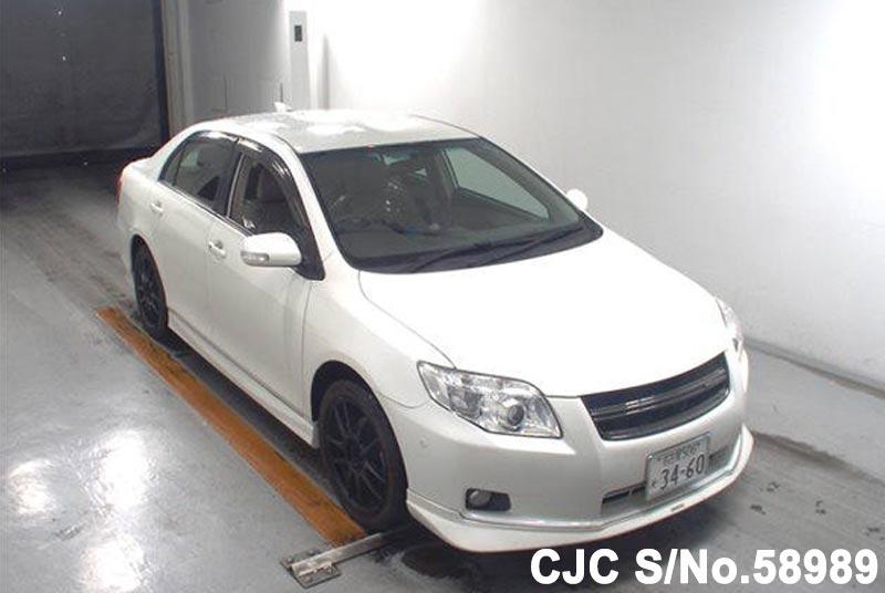 2007 Toyota / Corolla Axio Stock No. 58989