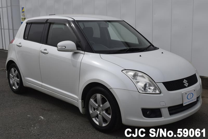 2008 suzuki swift pearl for sale stock no 59061 japanese used cars exporter. Black Bedroom Furniture Sets. Home Design Ideas