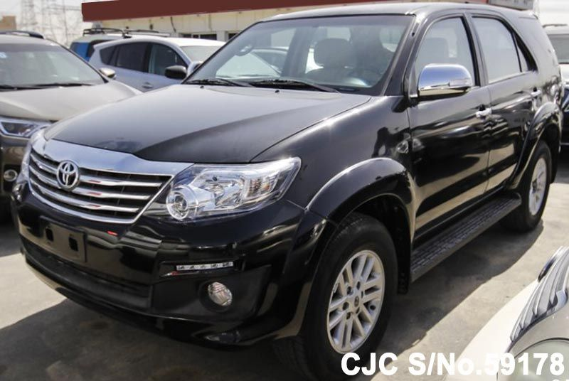 2015 Left Hand Toyota Fortuner Black For Sale Stock No