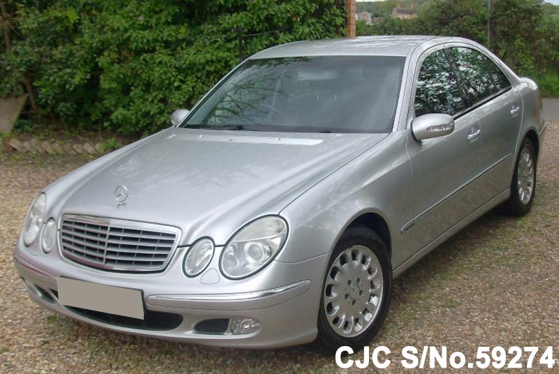2004 mercedes benz e class silver for sale stock no 59274 japanese used cars exporter. Black Bedroom Furniture Sets. Home Design Ideas