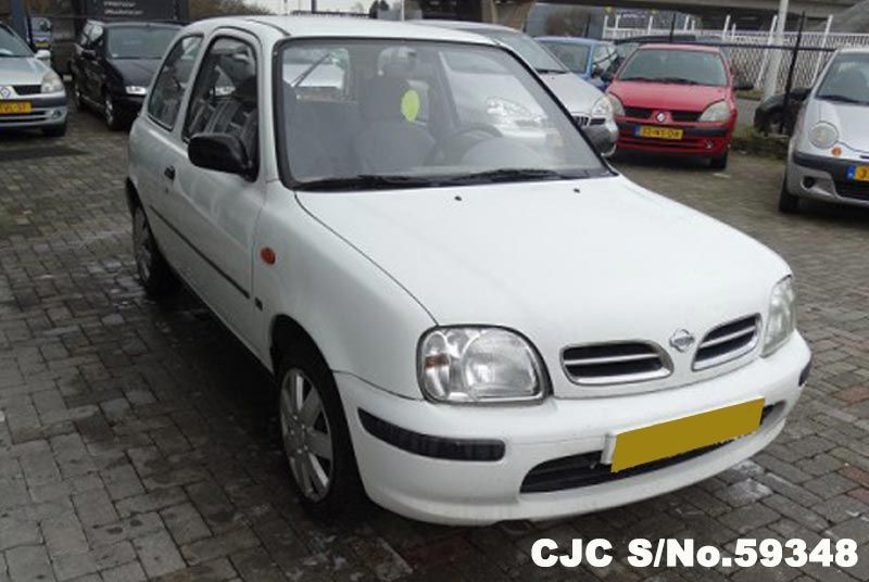 1998 left hand nissan micra white for sale stock no. Black Bedroom Furniture Sets. Home Design Ideas