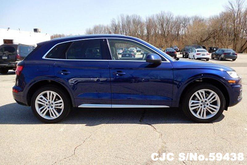 Used Audi Q5 For Sale >> Brand New 2018 Left Hand Audi Q5 Blue Metallic for sale | Stock No. 59438 | Left Hand Used Cars ...
