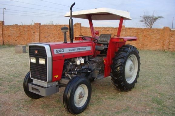 Mf Tractor Seat : Used massey ferguson mf tractors for sale cjc
