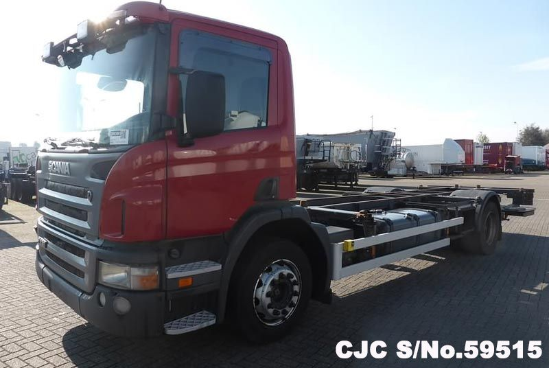 2006 Left Hand Scania P230 Red for sale | Stock No  59515