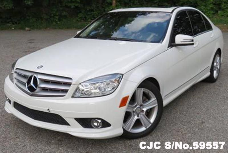 2010 left hand mercedes benz c class white for sale for 2010 mercedes benz c class for sale
