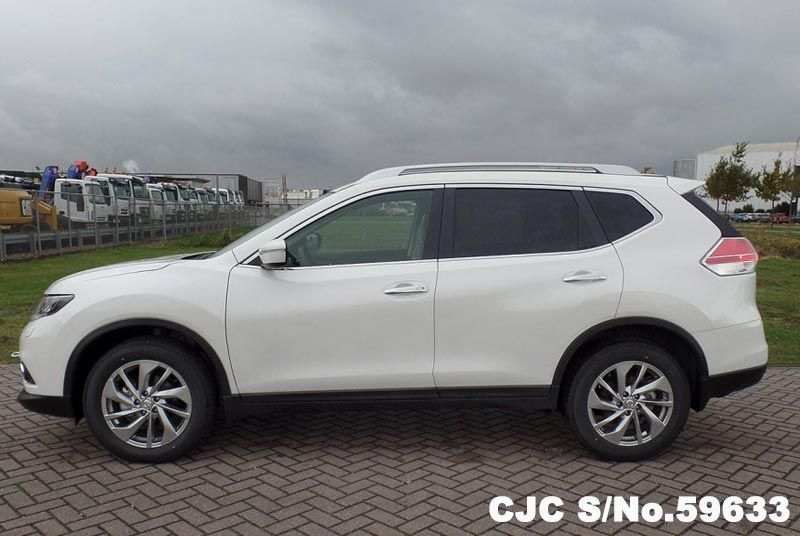Left Hand Nissan X Trail White For Sale Stock No 59633 Left Hand Used Cars Exporter