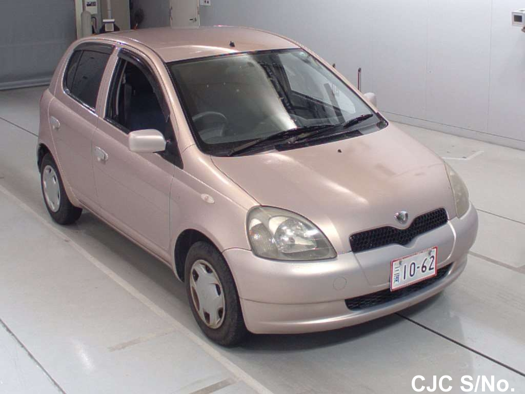 2001 toyota vitz yaris pink for sale stock no 59711 japanese used cars exporter. Black Bedroom Furniture Sets. Home Design Ideas