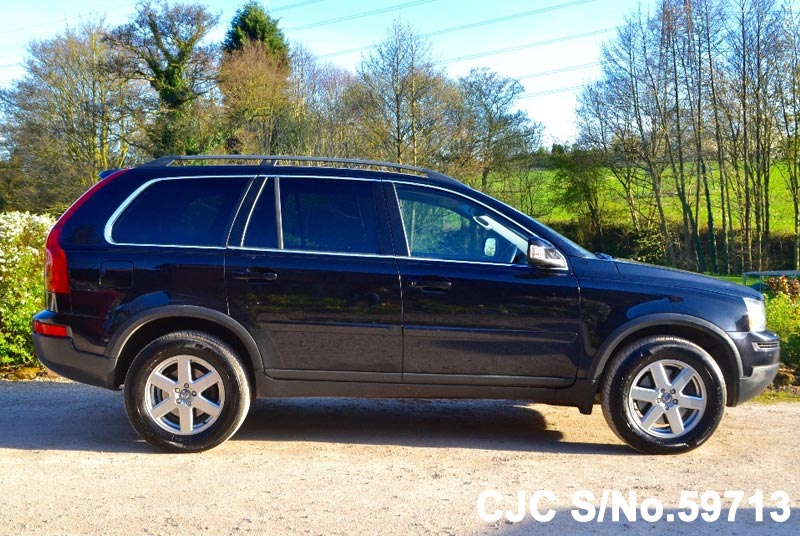 2010 volvo xc90 black for sale stock no 59713 japanese used cars exporter. Black Bedroom Furniture Sets. Home Design Ideas