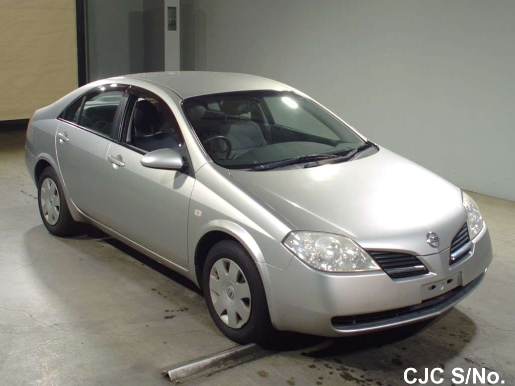 2002 nissan primera silver for sale stock no 59785 japanese used cars exporter. Black Bedroom Furniture Sets. Home Design Ideas