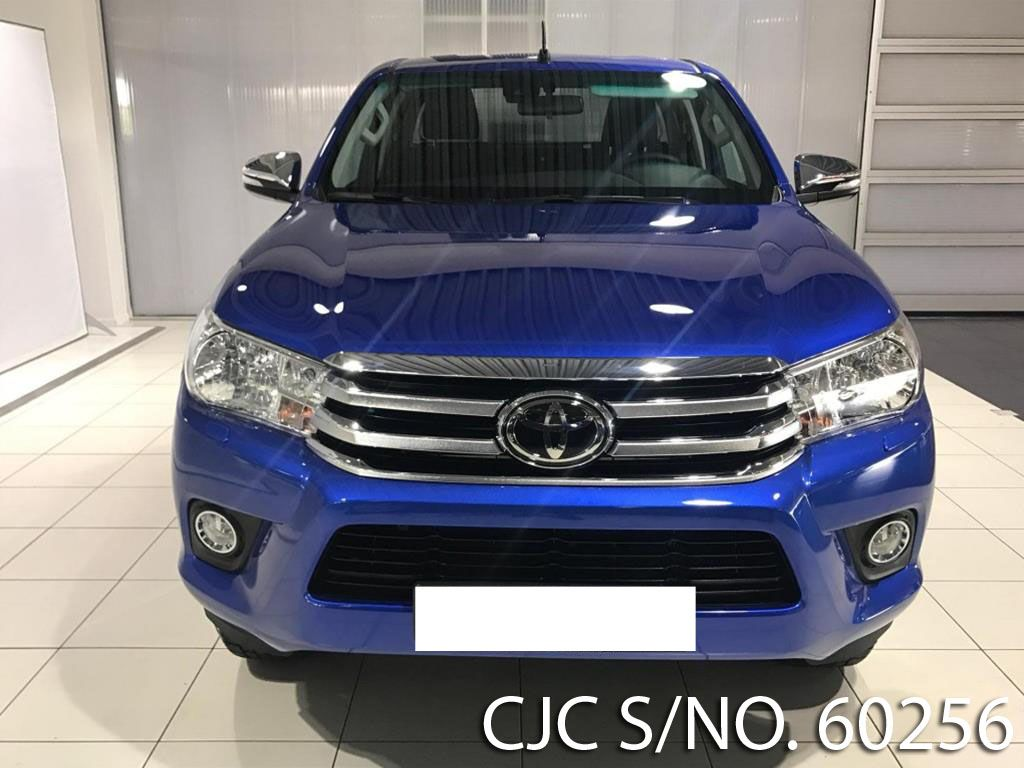 2017 Left Hand Toyota Hilux Blue Metallic For Sale Stock