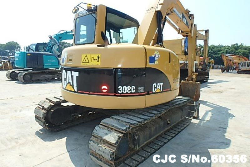 2004 Caterpillar / 308C Excavator Stock No. 60356
