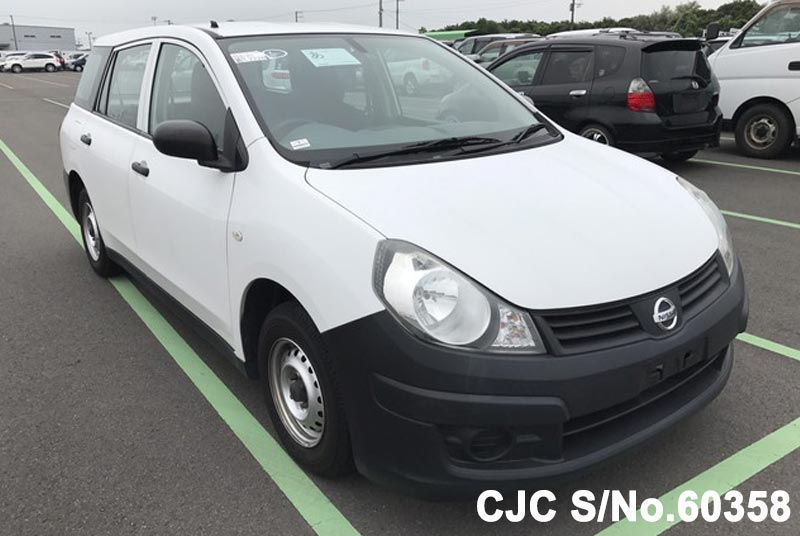 2012 Nissan AD Van White for sale | Stock No. 60358 | Japanese Used ...