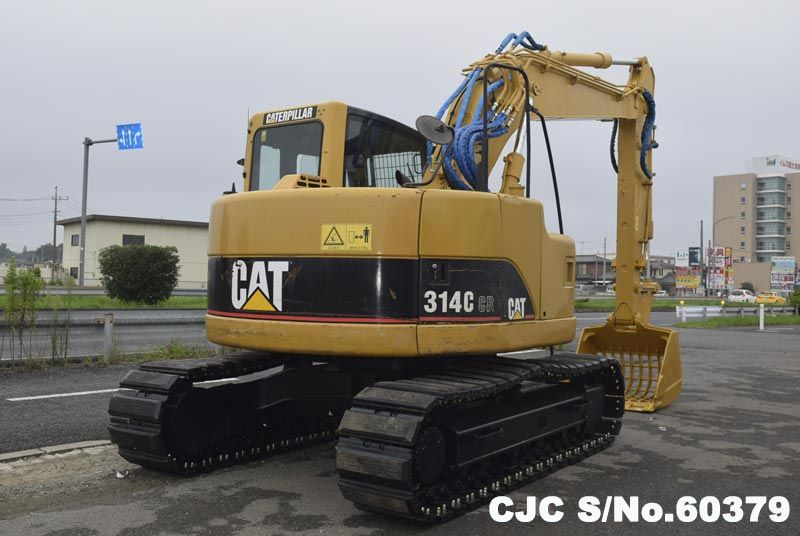 2007 Caterpillar / 314C Excavator Stock No. 60379