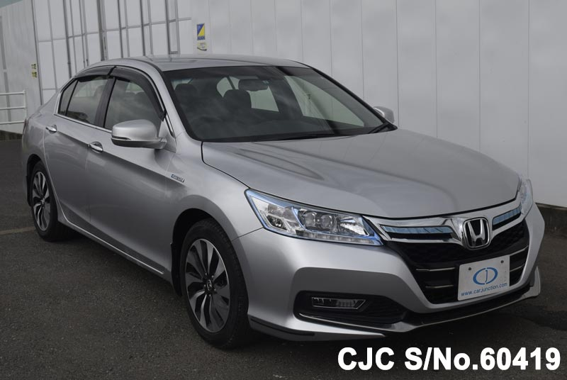 2014 Honda Accord For Sale >> 2014 Honda Accord Hybrid Silver For Sale Stock No 60419