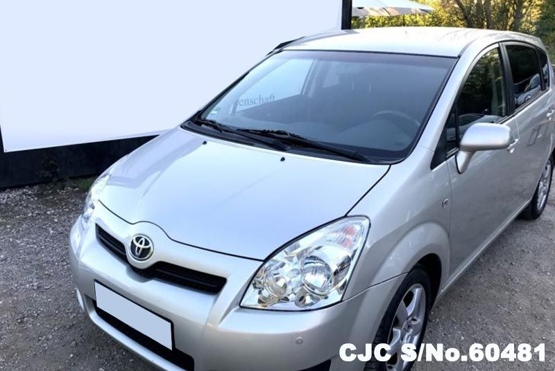 2009 left hand toyota corolla verso silver metallic for sale stock no 60481 left hand used. Black Bedroom Furniture Sets. Home Design Ideas
