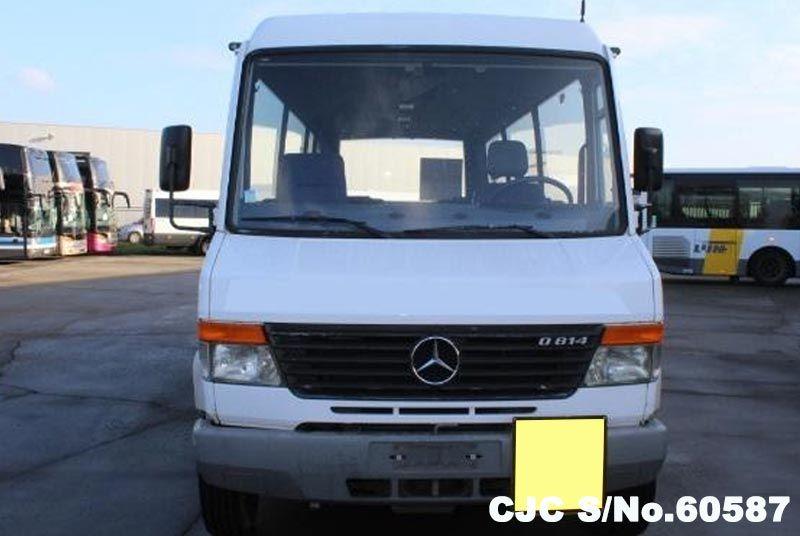 2001 Left Hand Mercedes Benz Vario White For Sale Stock