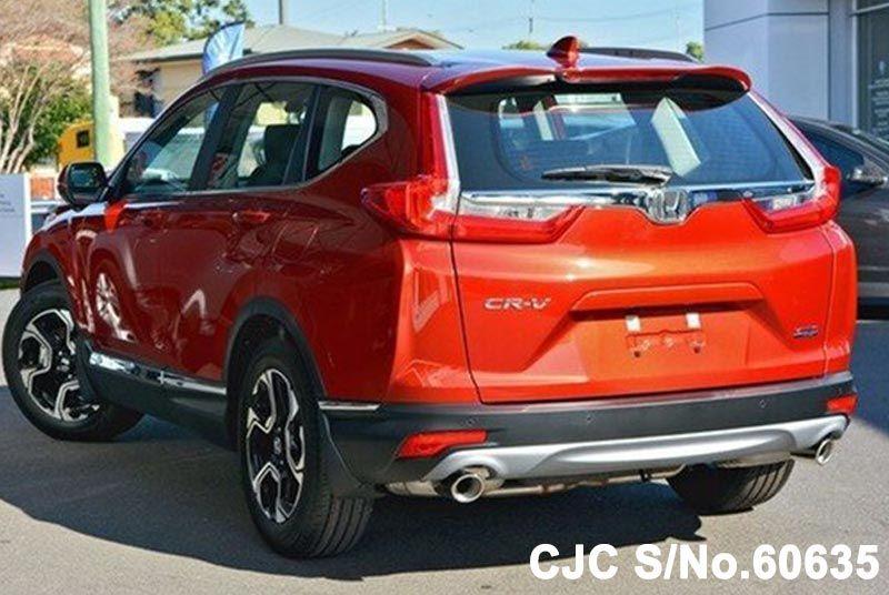 Brand new 2018 honda crv red for sale stock no 60635 for New honda crv for sale