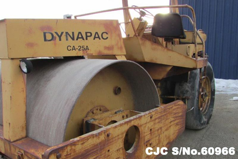 Dynapac / CA-25A Roller Stock No. 60966