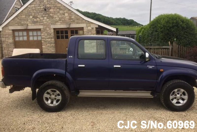 2004 toyota hilux truck for sale stock no 60969 japanese used cars exporter. Black Bedroom Furniture Sets. Home Design Ideas