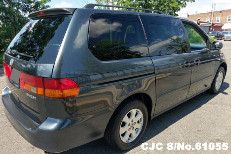 2004 left hand honda odyssey hybrid gray for sale stock no 61055 left hand used cars exporter. Black Bedroom Furniture Sets. Home Design Ideas