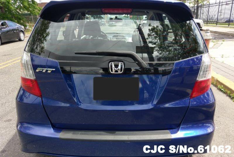 2009 Left Hand Honda Fit Aria Blue For Sale Stock No 61062 Left