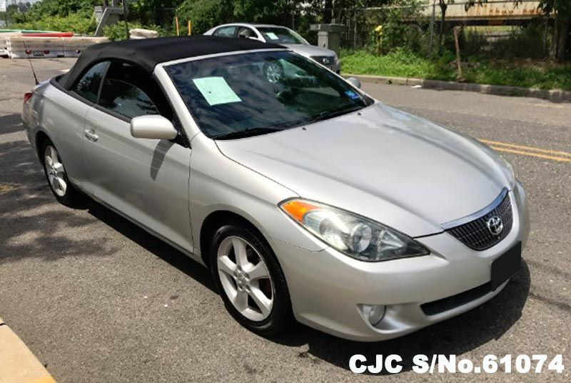 2006 left hand toyota camry silver for sale stock no 61074 left hand used cars exporter. Black Bedroom Furniture Sets. Home Design Ideas